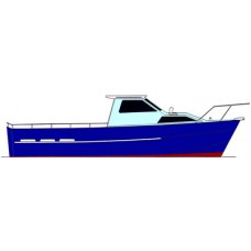 Coastworker 25 Planing Hull