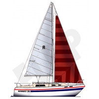 Adventurer 25 Trailer Sailer
