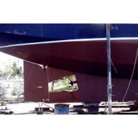 Mauritius / Norfolk 43 Rudder Modification