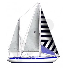 Bruce Roberts Sailboat Plans 40-65ft - Fine Line Boat Plans
