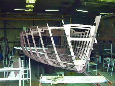 Metal Boat Kits|Flat Pack Kits - Fine Line Boat Plans & Designs